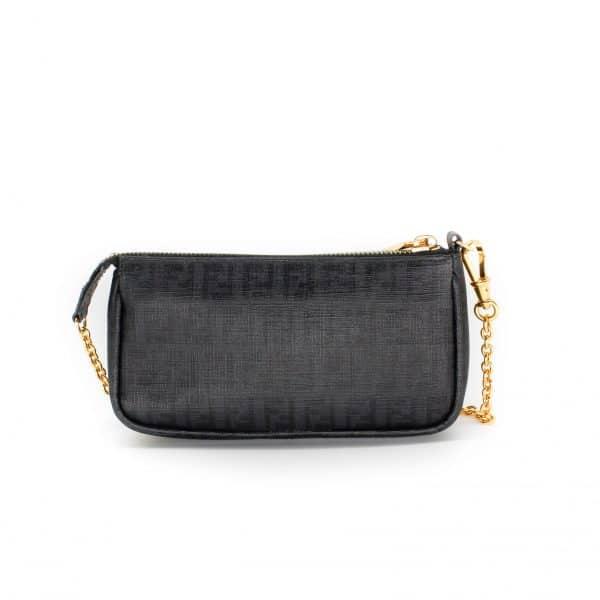 black fendi wallet on chain