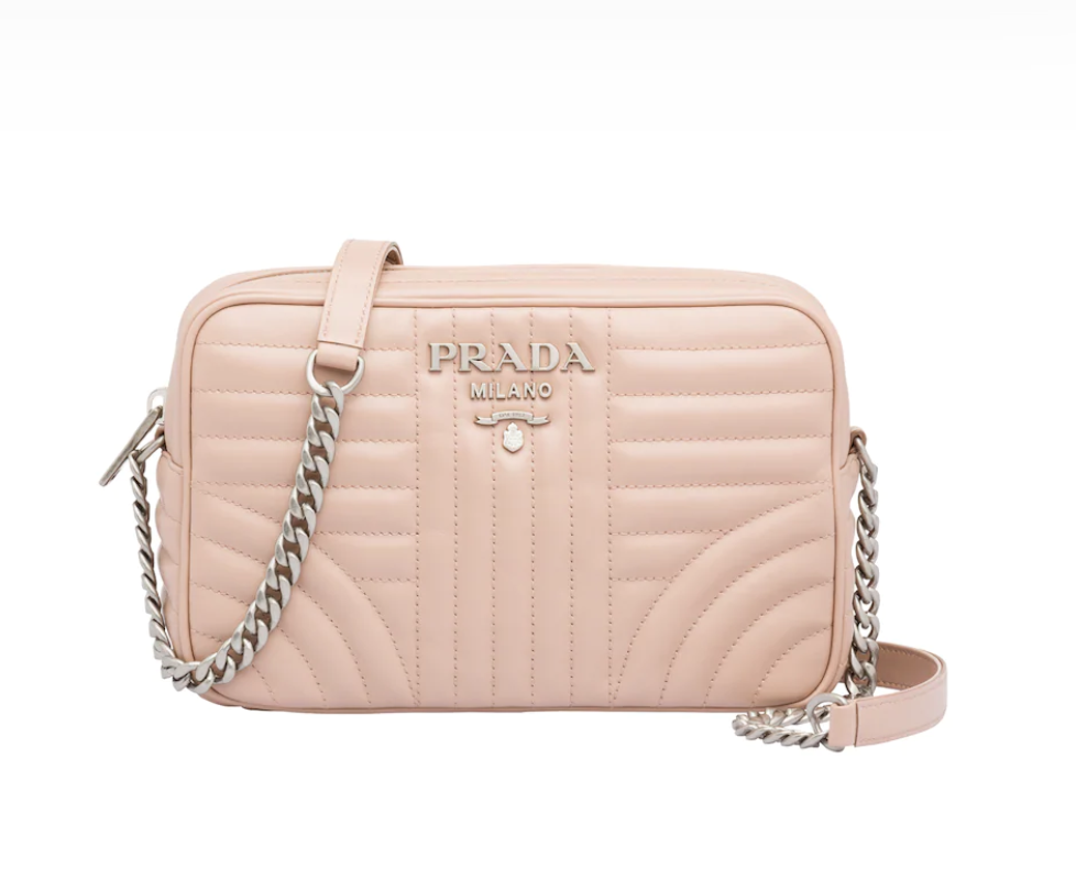 Leather Prada Diagramme Bag
