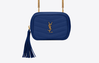 ysl baby lou in blue