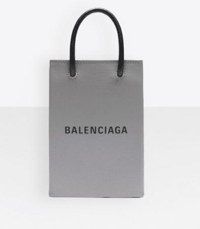 balenciaga grey bag