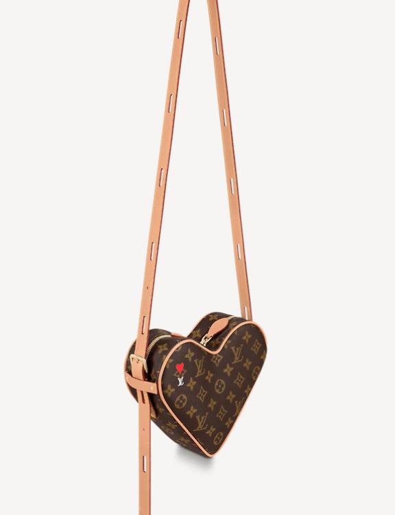 heard shaped lv bag crossbody