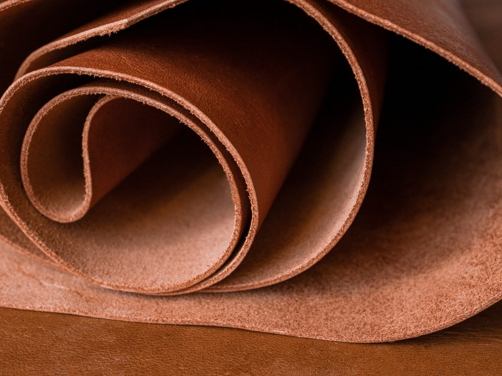 leather roll vachetta leather
