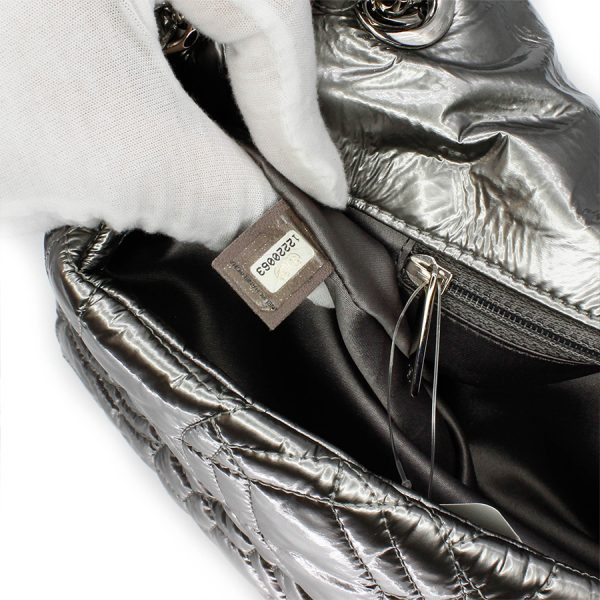 serial code of silver chanel vintage bag