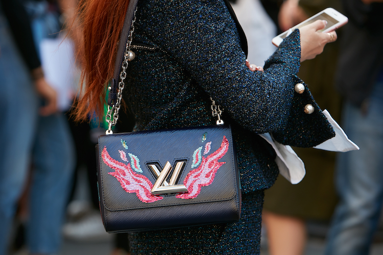 louis vuitton bag with flames on it