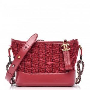 Chanel Gabrielle Hobo Bag Diamond Stitched Small Pink