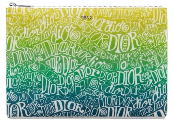Dior And Shawn Pouch Nylon Multicolor