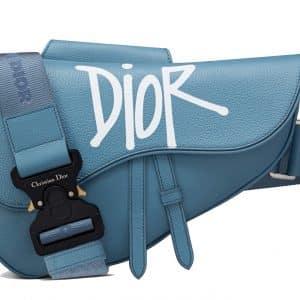 Dior And Shawn Saddle Bag Blue