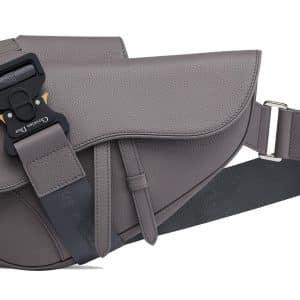 Dior Saddle Bag Calfskin Gray