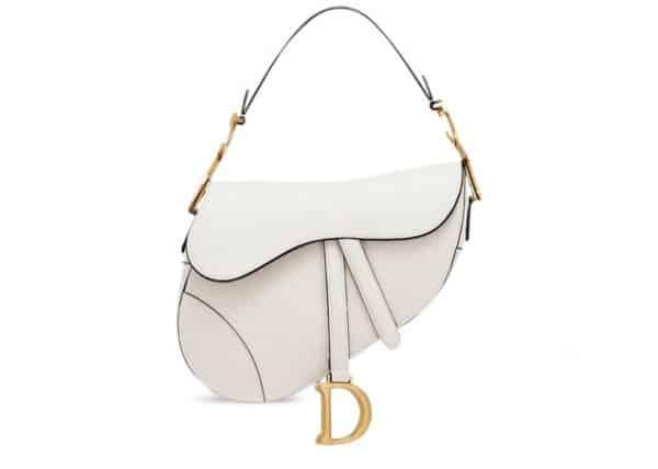 Dior Saddle Bag Off-White