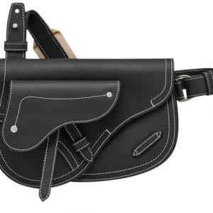 Dior x Kaws Pouch Saddle Black