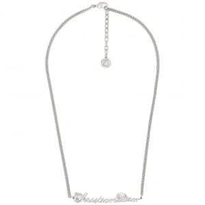 Dior x Kenny Scharf Necklace Silver