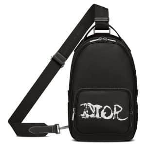 Dior x Peter Doig Sling Bag Black