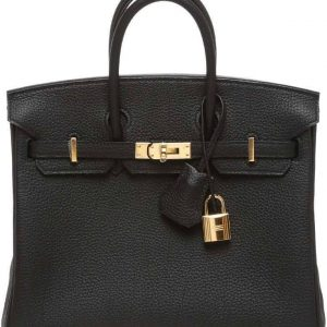 Hermes Birkin Togo 25 Noir