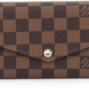 Louis Vuitton NM Sarah Damier Ebene Brown Lining