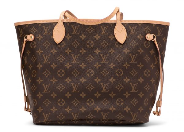 Louis Vuitton Neverfull Monogram (Without Pouch) MM Beige Lining