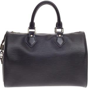 Louis Vuitton Speedy Epi 25 Black