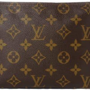 Louis Vuitton Toiletry Pouch 19 Monogram Brown