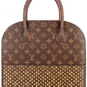 Louis Vuitton x Christian Louboutin Iconoclast Tote Monogram Brown/Red