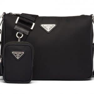 Prada Crossbody Bag Nylon Black